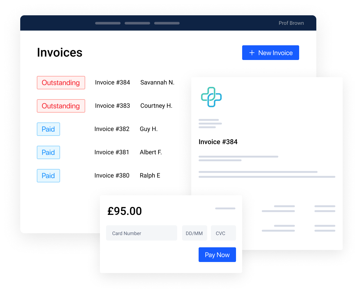 invoices and payments