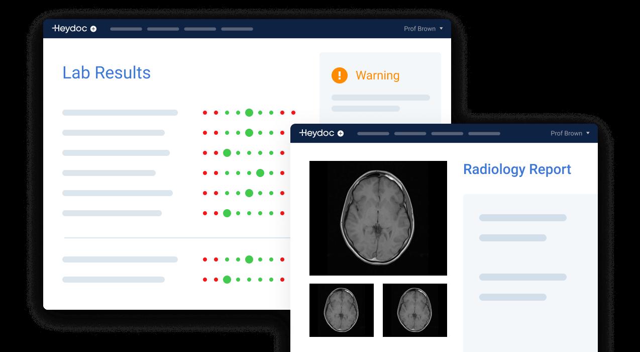 pathology and radiology